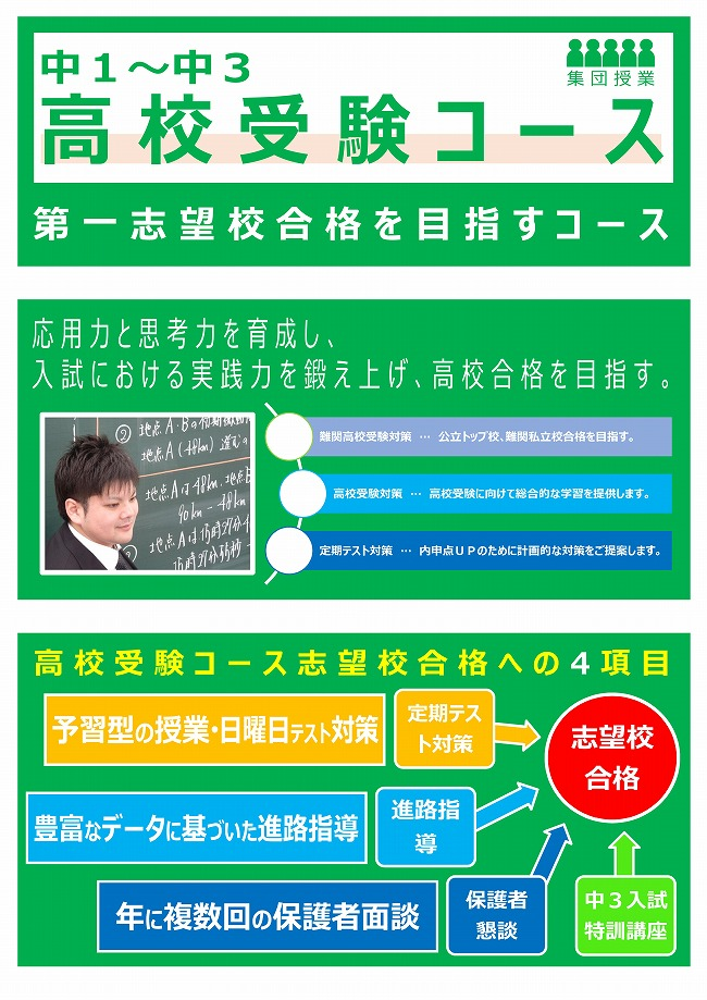 久宝寺校:高校受験コース