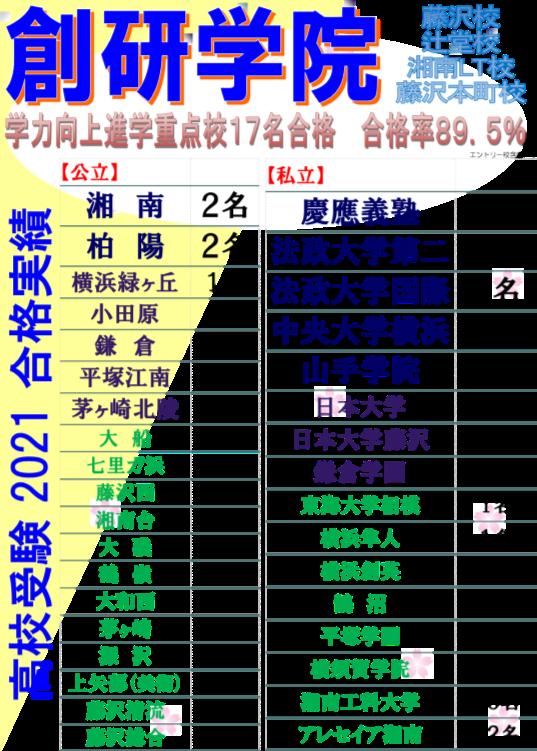 【高校受験科】体験授業受付中!